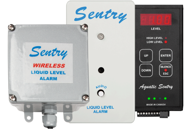 Aquatic Sentry Liquid-Level Alarms and Gauges